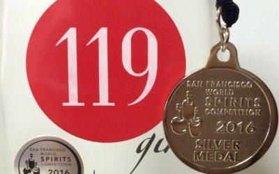 119 Gin ya tiene su medalla de Plata