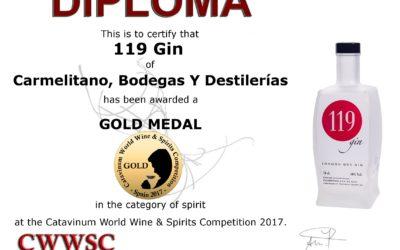 Medalla de Oro en el Catavinum 2017