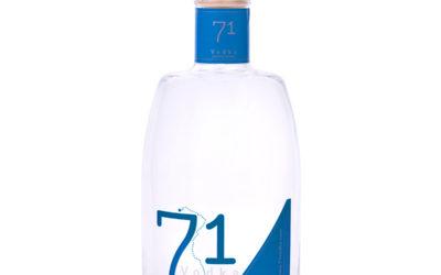 71 Vodka, la primer vodka Premium de Carmelitano
