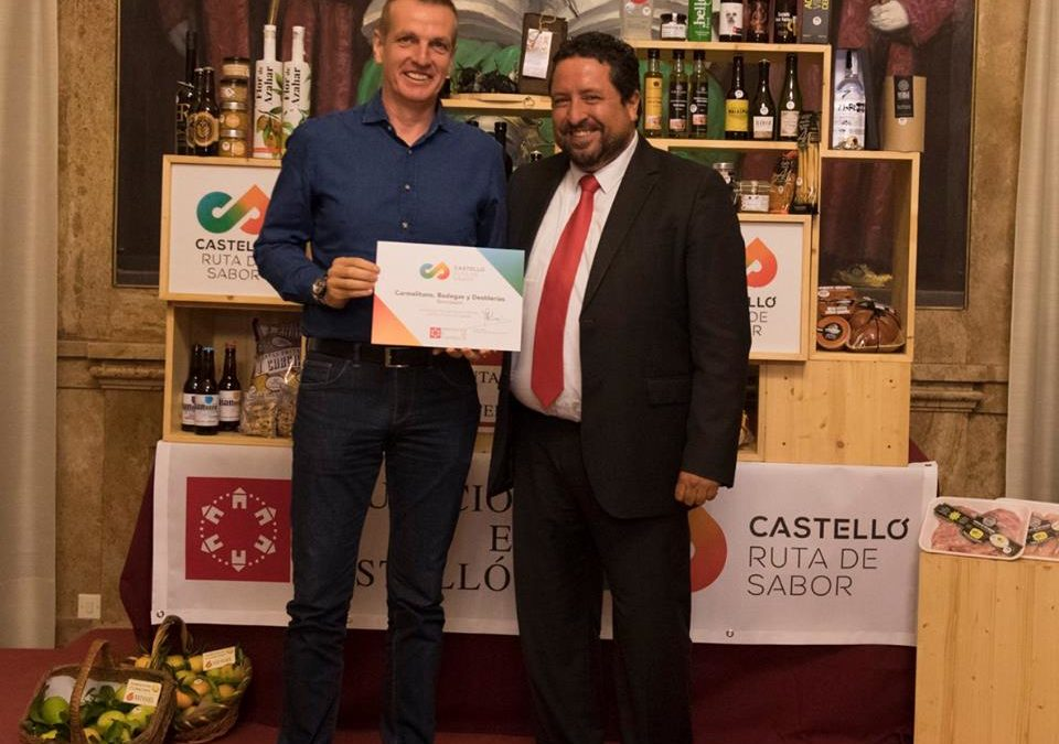 Carmelitano was granted the Castellón Ruta de Sabor® trade mark