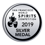San Francisco World Spirits Competition. Silver